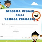 Diploma di fine Scuola primaria