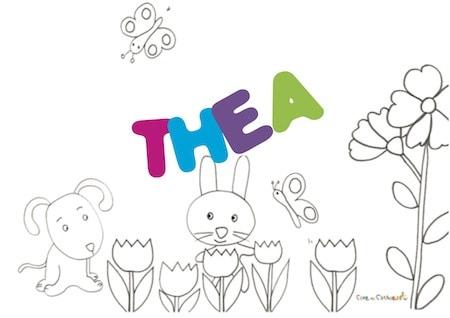 Thea: significato e onomastico