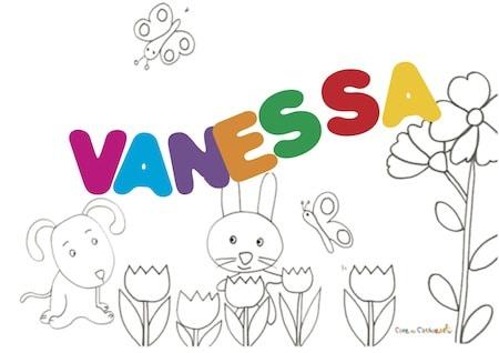 Vanessa: significato e onomastico