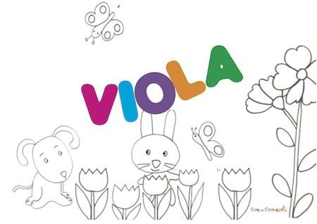 Viola: significato e onomastico