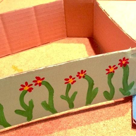 giardinaggio per bambini: la casetta con giardino