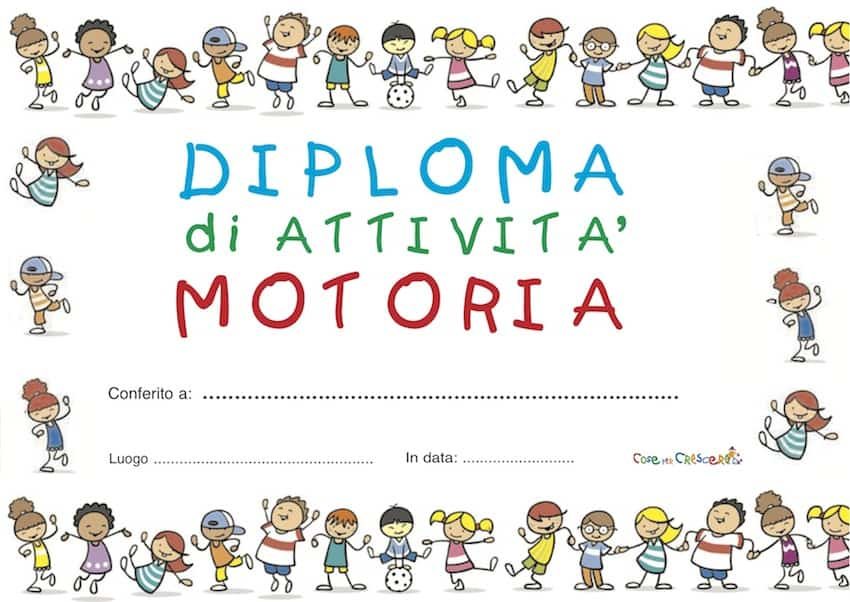 diploma attivita' motoria
