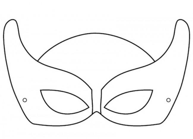 maschera supereroe
