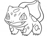 Bulbasaur Pokémon da colorare