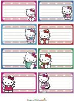 Etichette Hello Kitty da stampare