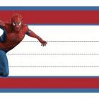 Etichette con Supereroi da stampare