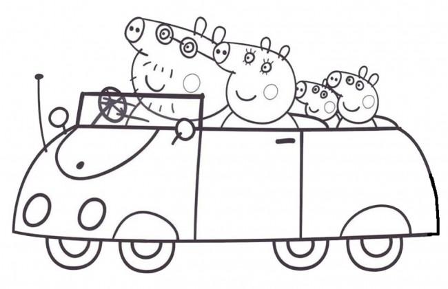 Peppa Pig macchina da colorare