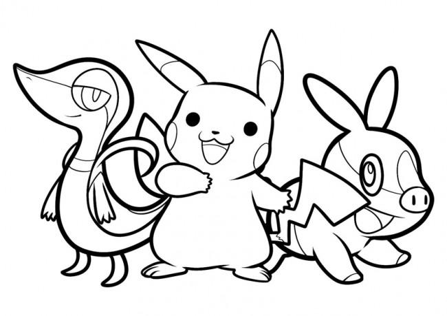 Disegni Di Pokemon Per Bambini Da Colorare Da Stampare Gratis