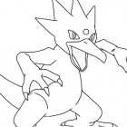 Golduck da colorare