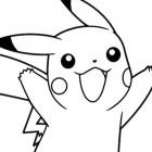 Disegni di Pikachu da colorare