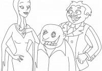 Disegni Della Famiglia Addams Da Colorare Immagini Famiglia