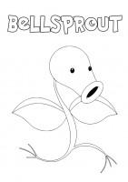 Pokemon Bellsprout da colorare