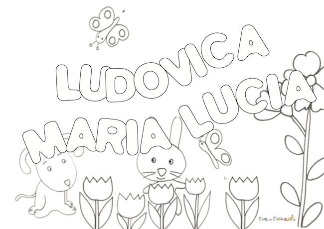 LUDOVICA MARIA LUCIA