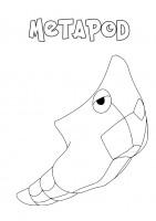 Pokemon Metapod da colorare