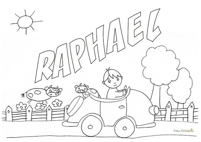 Raphael da colorare