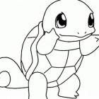 Squirtle da colorare