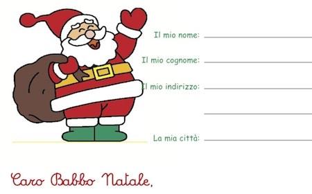 Lettera A Babbo Natale Divertente.Lettera Per Babbo Natale Da Stampare Cose Per Crescere