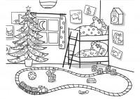 Peppa Pig A Natale Da Colorare Cose Per Crescere