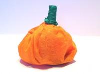zucca porta dolcetti per halloween