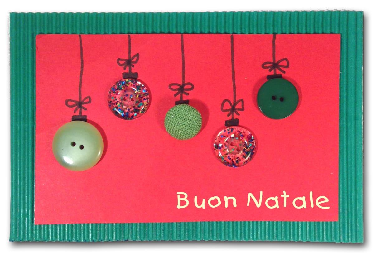 Biglietto auguri di Natale per bambini