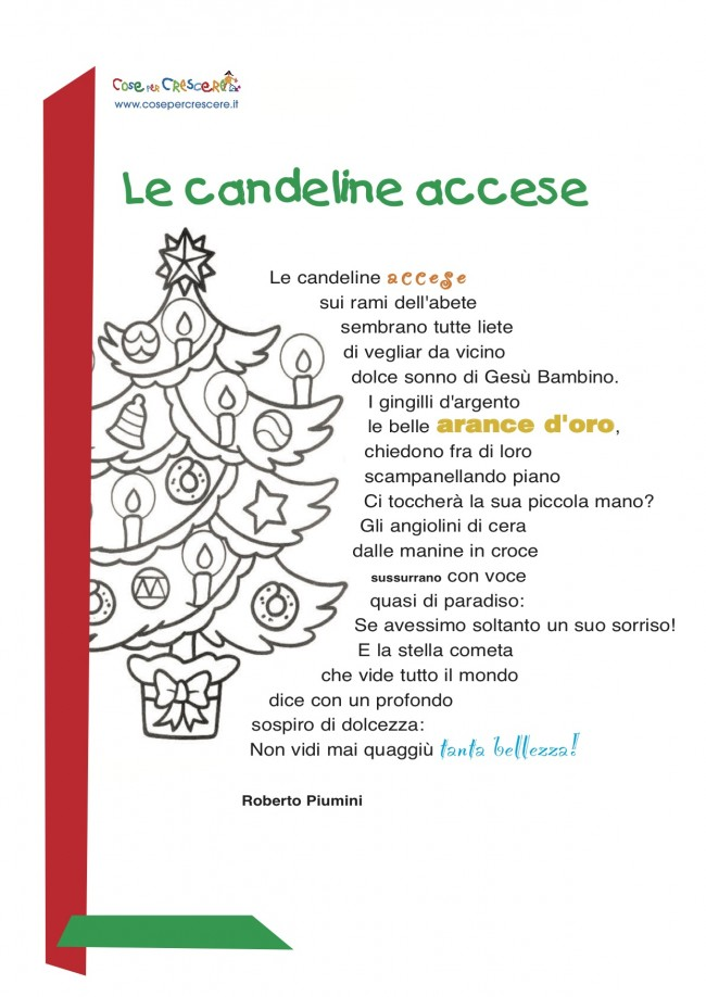 Favorito Poesia di Natale: le candeline accese YZ14
