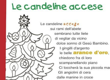 Poesie Di Natale Di Piumini.Poesia Di Natale Le Candeline Accese