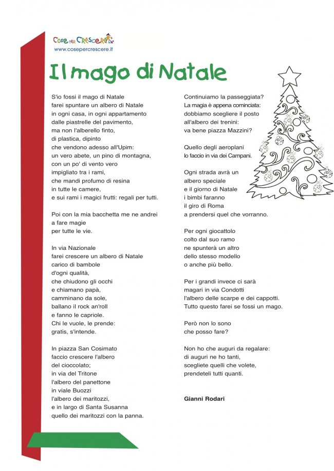Poesia di Natale di Gianni Rodari