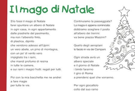 Poesia Natale Rodari.Poesia Di Natale Il Mago Di Natale