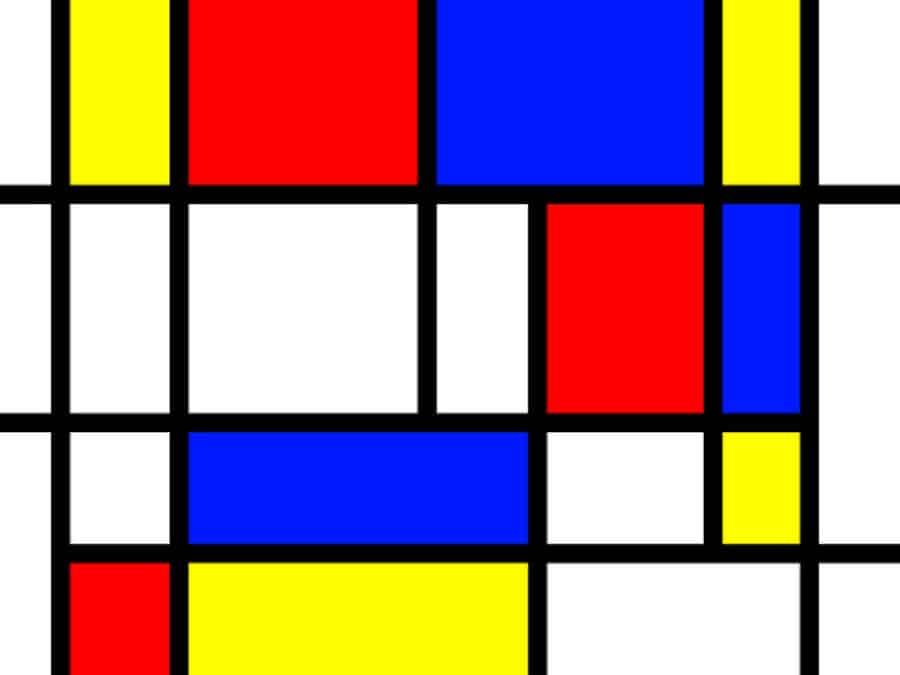 Mondrian spiegato ai bambini