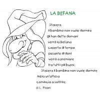 Poesia per bambini sulla Befana