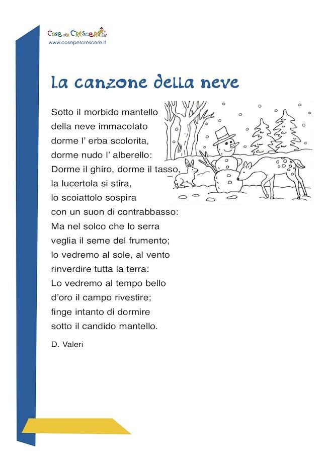 poesia sull'inverno