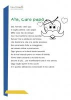Poesia per il papà: a te caro papà