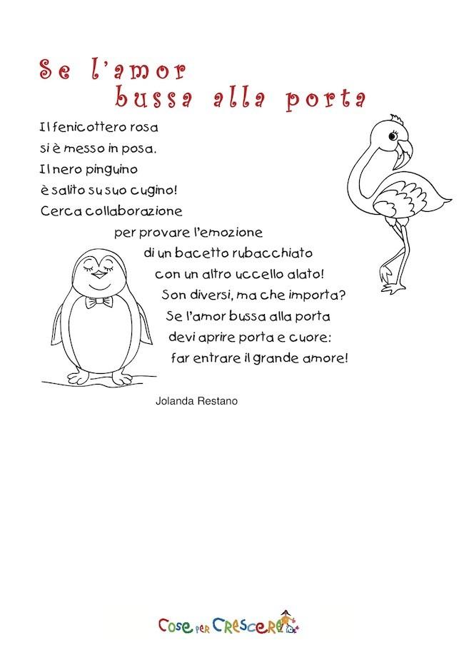 Poesia per bambini per San Valentino