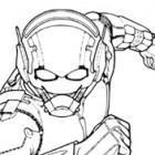 Ant-Man in azione da colorare