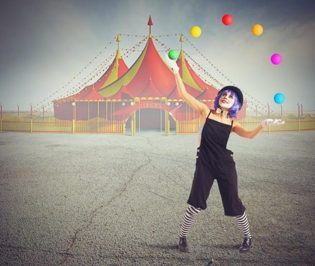 Circo spiegato ai bambini