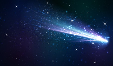 Comet background.