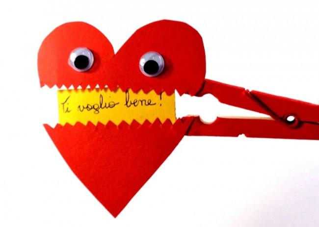 Amato Lavoretto per San Valentino: cuore messaggero FQ87