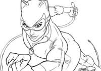 disegni da colorare di batman e catwoman