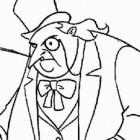 Il Pinguino da colorare