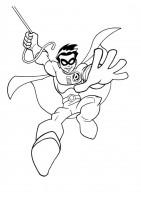 Disegno di Robin da colorare