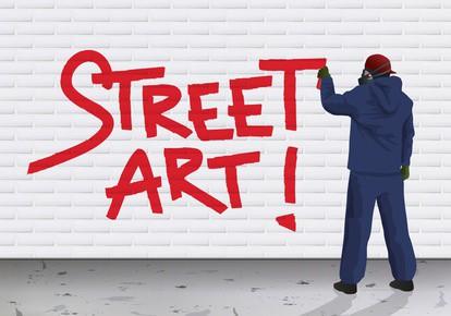 STREET ART - Graffiti - expression - Art urbain