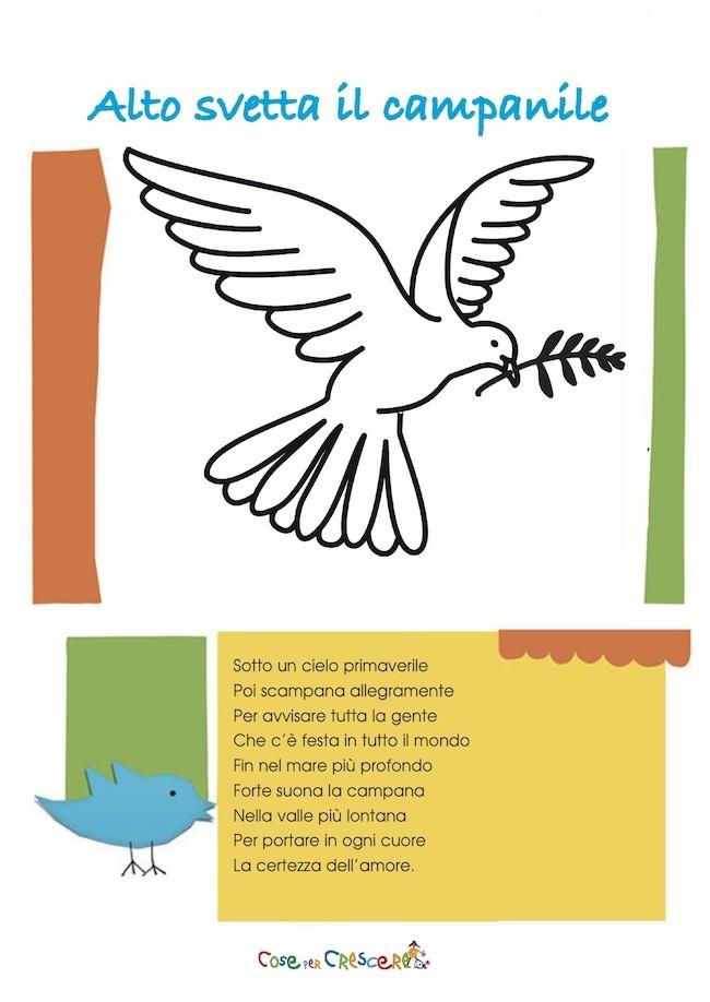 Poesia sulla pasqua per bambini for Poesia di pasqua per bambini