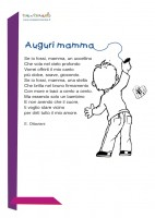 Poesia per la mamma - Auguri mamma