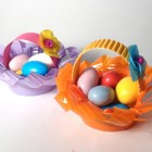 Piccoli cestini di Pasqua