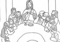 Disegni Per Il Catechismo Per Bambini Da Stampare E Colorare Su Gesù