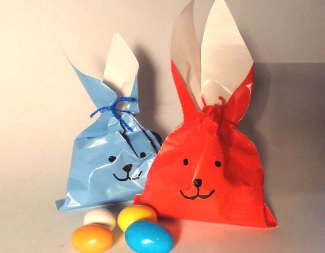 Coniglio sacchetto di Pasqua