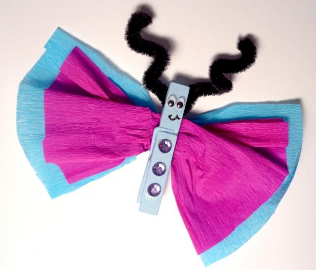 Farfalla molletta cose per crescere for Cose con la s
