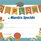 Diploma di Maestra speciale