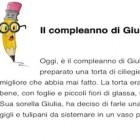 Il compleanno di Giulia: GLI e LI