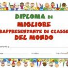 Diploma di migliore rappresentante